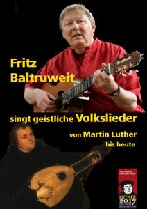 Volkslieder mit Fritz Baltruweit