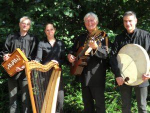 Die Studiogruppe Baltruweit spielte 2017 immer wieder Volkslieder und -tänze der Lutherzeit.